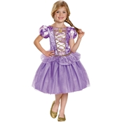 Disguise Little Girls Rapunzel Classic Costume