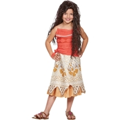 Disguise Little Girls Moana Classic Costume