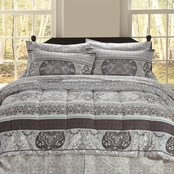 Beatrice Home Fashions Thurlow Bed in a Bag Set
