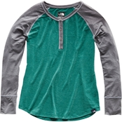 The North Face In A Flash Raglan Henley Top