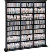 Prepac Triple Width Barrister Multimedia Tower