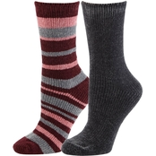 Columbia Medium Weight Stripe Chenille Crew 2 pk. Socks