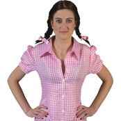 Morris Costumes Women's Checkered Body Shirt Costume
