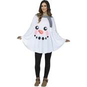 Morris Costumes Women's Snowman Poncho Costume