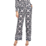 Rachel Roy Black Tile Trousers