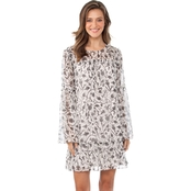 Kensie Tile Birds Dress