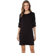 Kensie Drapey French Terry Dress