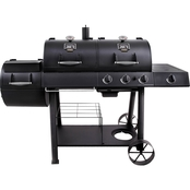 Oklahoma Joe's Longhorn Charcoal and LP Gas Smoker