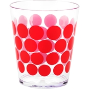 Zak Dot Dot Plastic Double Old Fashioned Tumbler