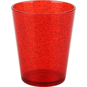 Zak Spritz Plastic Double Old Fashion Glass