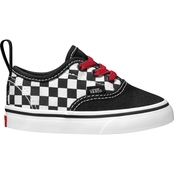 Vans Boys Checkerboard Authentic Elastic Lace