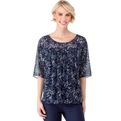 Michael Kors Scattered Blooms Top