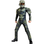 Morris Boys Master Chief Classic Muscle Costume