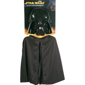 Rubie's Costume Kids Darth Vader Mask and Cap Costume