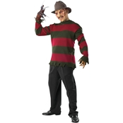 Morris Costumes Men's Freddy Krueger Deluxe Sweater  Costume