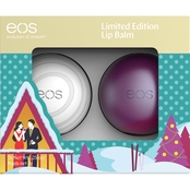 EOS Limited Edition Sugarplum and Visibly Soft Lip Balm Set
