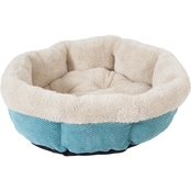 PetMate Precision SnooZZy Mod Chic Round Shearling Pet Bed