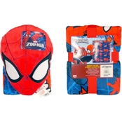 Marvel Spider-Man Nogginz and Travel Blanket Set