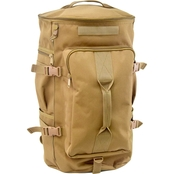 Flying Circle Top Load Duffel Backpack