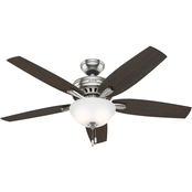 Hunter Newsome Bowl Ceiling Fan 52 in.