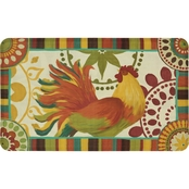 Mohawk Home Painted Spice Rooster 18 x 30 In Kitchen Mat