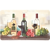 Mohawk Home Rofino Wine Trio 18 x 30 In Kitchen Mat