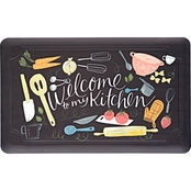 Mohawk Home Scattered Kitchen 18 x 30 In Kitchen Mat