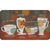 Mohawk Home Tasty Coffee Words 18 x 30 In Kitchen Mat