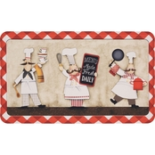 Mohawk Home Three Panel Chefs 18 x 30 In Kitchen Mat