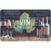 Mohawk Home Vin de Table 18 x 30 In Kitchen Mat