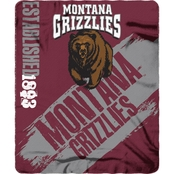 Northwest NCAA Painted Fleece Throw