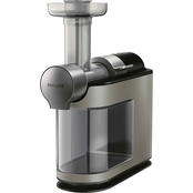 Philips Avance Collection Masticating Juicer, Metallic Gray