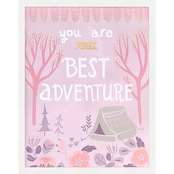 GreenBox Art You Are Our Best Adventure Framed Embellished Canvas Wall Art 15 x 19