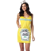 Rasta Imposta Women's Heinz Mustard Bottle Dress Costume