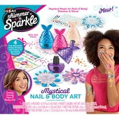 Cra-Z-Art Shimmer N Sparkle Mystical Nail and Body Art