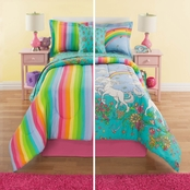 Royale Linens Unicorn Complete Bedding Set