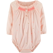 OshKosh B'gosh Infant Girls Smocked Bodysuit