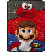 Nintendo Super Mario World Blanket