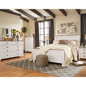 Ashley Willowton Panel Bed 5 pc. Set