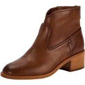 Frye Clair Stacked Heel Pull On Boots