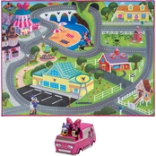 Disney Minnie's Town Interactive Game Rug
