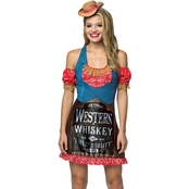 Morris Costumes Whiskey Bottle Dress