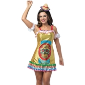Morris Costumes Tequila Bottle Dress