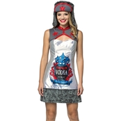 Morris Costumes Vodka Bottle Dress