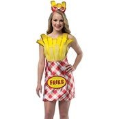 Morris Costumes French Fry Foodie Dress