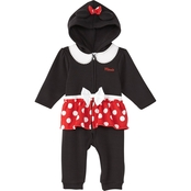 Disney Infant Girl Minnie Mouse Coverall
