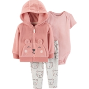 Carter's Infant Girls 3 pc. Little Jacket Set