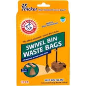 Arm & Hammer Petmate Fresh Scent Swivel Bin Pet Waste Bags 20 ct.