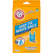 Arm & Hammer Easy Tie Waste Bag 75 pk.