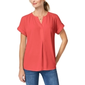 Charter Club Split-Neck Blouse